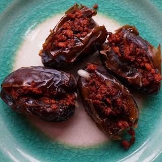 Chorizo Stuffed Dates