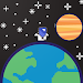 Walk to Planet icon