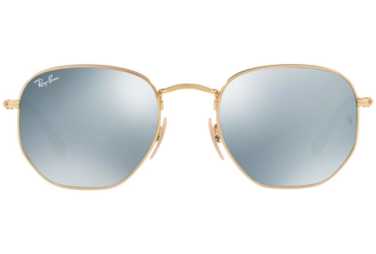 f5d0c270b2fe5 Buy Ray-Ban Hexagonal RB3548N C54 001 30 Sunglasses