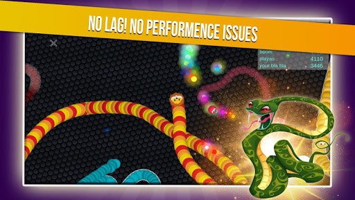 Slither Snake.io - Worm Eater Dash With Masks  screenshots 2