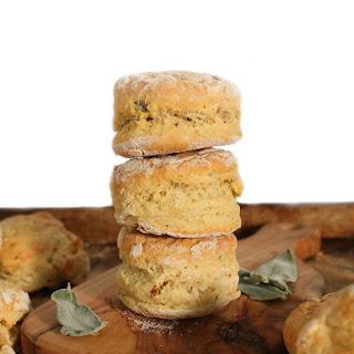 Vegan Sage and Garlic Buttermilk Biscuits