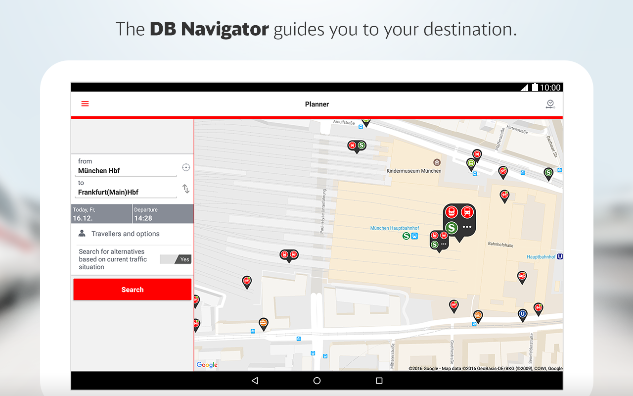 DB Navigator- screenshot