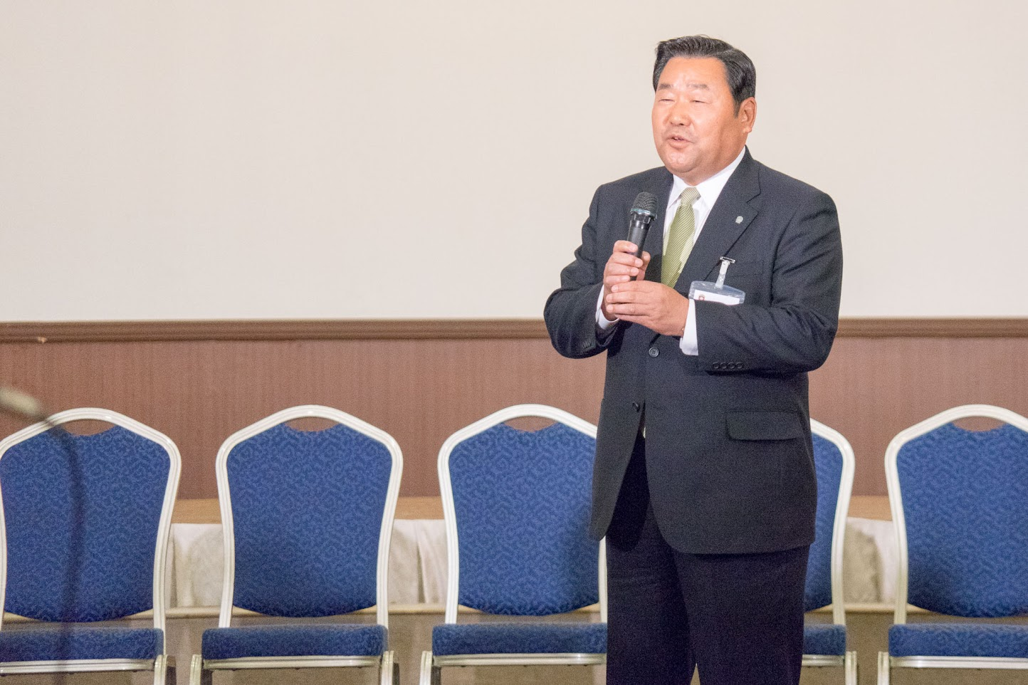 (株)北海道日本ハムファイターズ・竹田憲宗 代表取締役社長