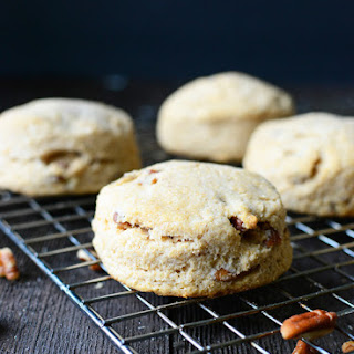 Whole Wheat Pecan Biscuits