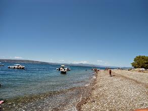 Photo: σύμφωνα με τον κανονισμό της οργάνωσης του αγώνα έγινε  παράκτια κολύμβηση από τη θέση κάτεργο του Καντηλιού ως τη Λίμνη, απόστασης 8 περίπου χιλιομέτρων.