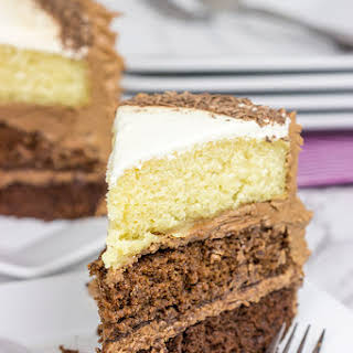 Chocolate Ombre Cake.