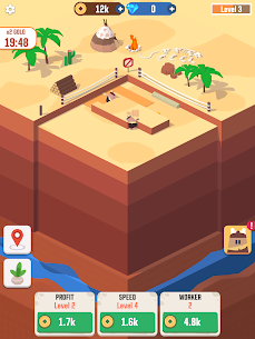 Idle Digging Tycoon Mod Apk 1.1.5 (Unlimited Money + Gems) 6