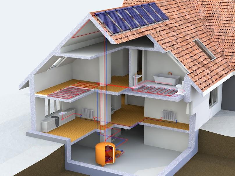 Ogrzewanie domu odnawialnymi źródłami energii