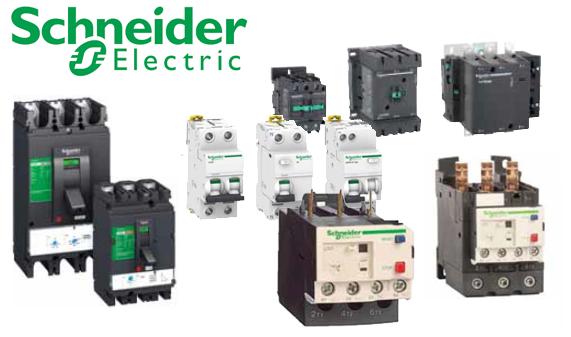 Thiết bị điện Schneider, thiết bị đóng cắt Schneider, Aptomat, MCCB, MCB, RCCB, RCBO, Contactor, Rơ le nhiệt