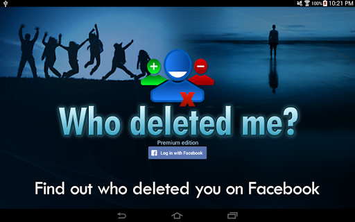 Who deleted me on Facebook? 1.7.4 screenshots 3
