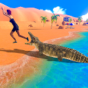 应用程序下载 Angry Crocodile Beach Attack Simulator 安装 最新 APK 下载程序
