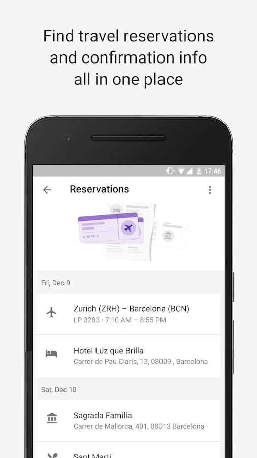 Google Trips - Travel Planner- screenshot