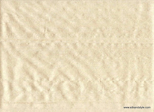 Photo: 100% Handloom Dupioni Silk - H/L Beige