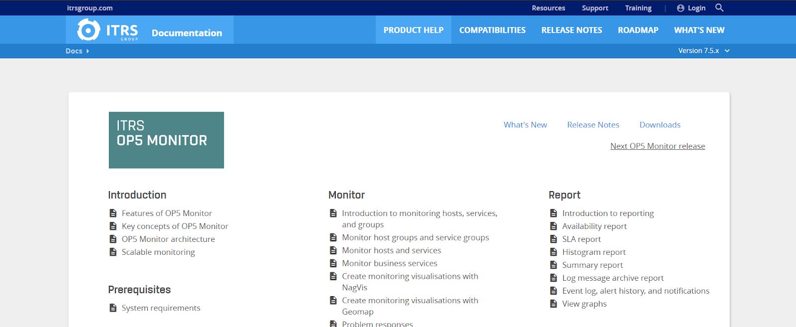 OP5 Monitor Server Application Monitoring Software