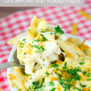Chicken Alfredo Baked Pasta Recipe