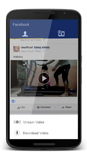 Video Downloader for Facebook 1.0 screenshots 1