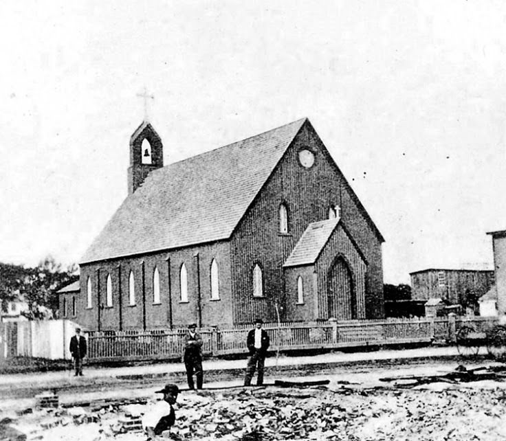The original St. Mary's church was built in 1848.