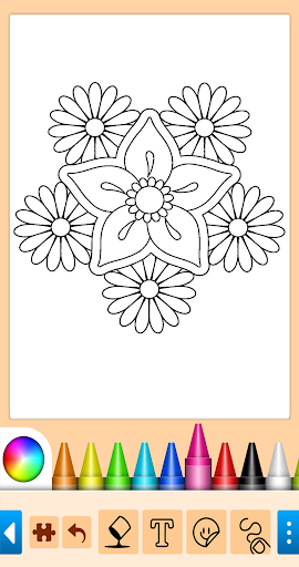 Coloring game for girls and women 13.9.6 screenshots 13