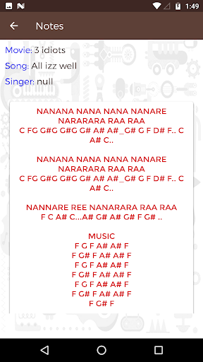 Western Piano Notes Chords For Bollywood Songs Apk Download