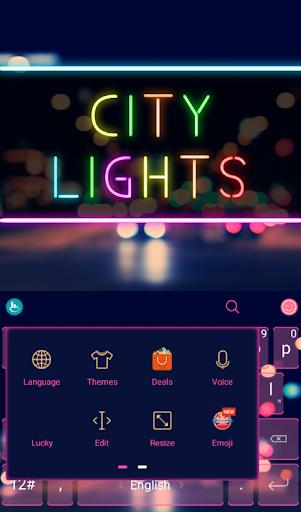 TouchPal City Light Theme|玩個人化App免費|玩APPs