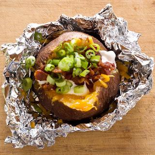 Steakhouse Style Baked Potatoes