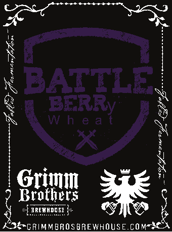 Logo of Grimm Brothers Battleberry Wheat