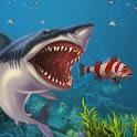 Underwater Sea Monster Attack - Shark Simulator 3D icon