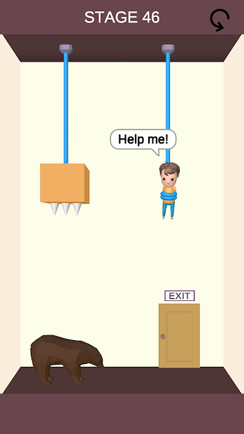 Rescue Cut - Rope Puzzle Android App Screenshot