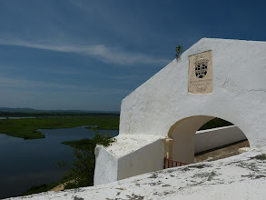 Photo: Entrance of the fortress - date of construction 1655.