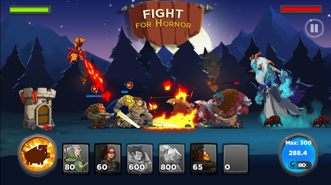 Castle Kingdom: Crush in Strategy Game Free Android App Screenshot