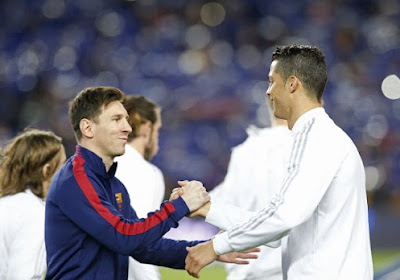Cristiano Ronaldo meilleur que Lionel Messi.... sur Instagram