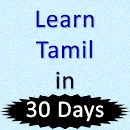Learn English 30 Days in Tamil v 1.0 app icon