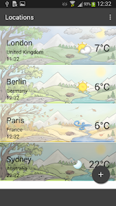 Weather by Miki Muster screenshot 1