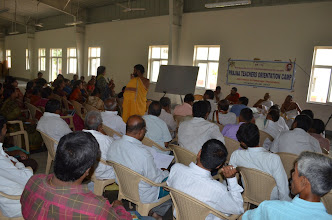 Photo: Prajna Orientation Camp For Bengaluru Teachers (JIVA Campus, Sri Ramanagar, AP - 2012 Aug 24 To 26)