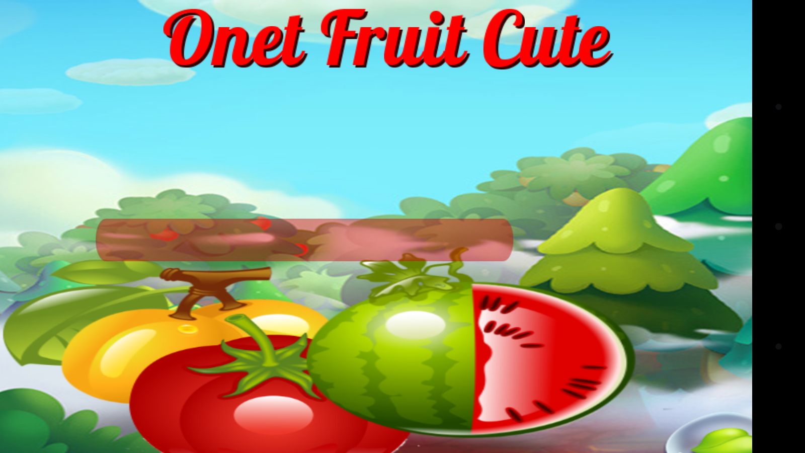 Game onet fruit - Onet Fruit Cute Screenshot
