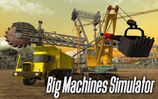 ud83dude8d Big Machines Simulator 3D apkpoly screenshots 1