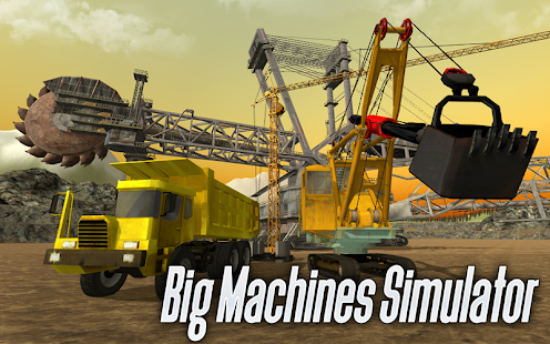 Big Machines Simulator 3D - náhled