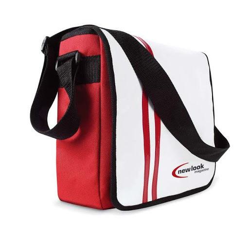 Document Shoulder Bag in PVC