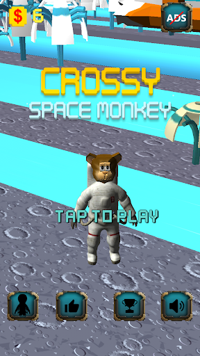 Crossy Space Monkey