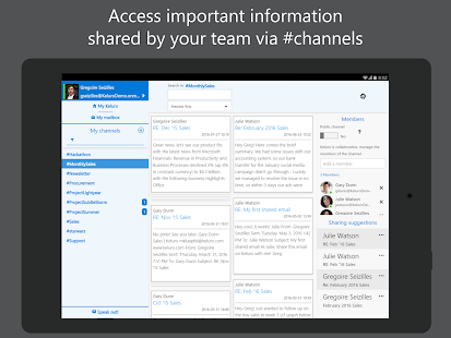 Keluro - Smart Email Sharing- screenshot thumbnail