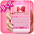 Pink Delightful Keyboard file APK Free for PC, smart TV Download