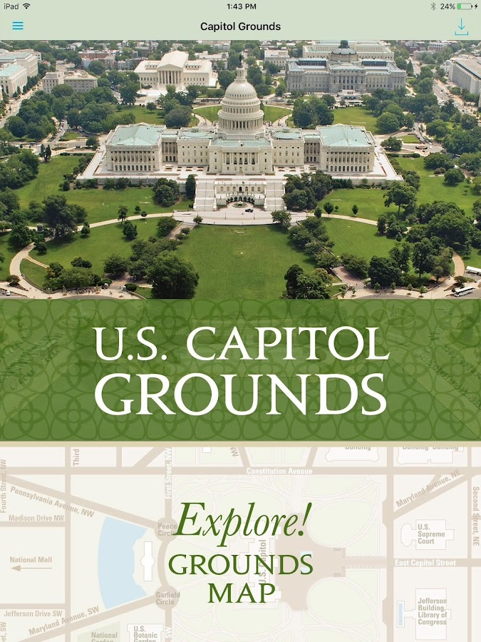 US Capitol Grounds Android Apps On Google Play - Us capitol grounds map