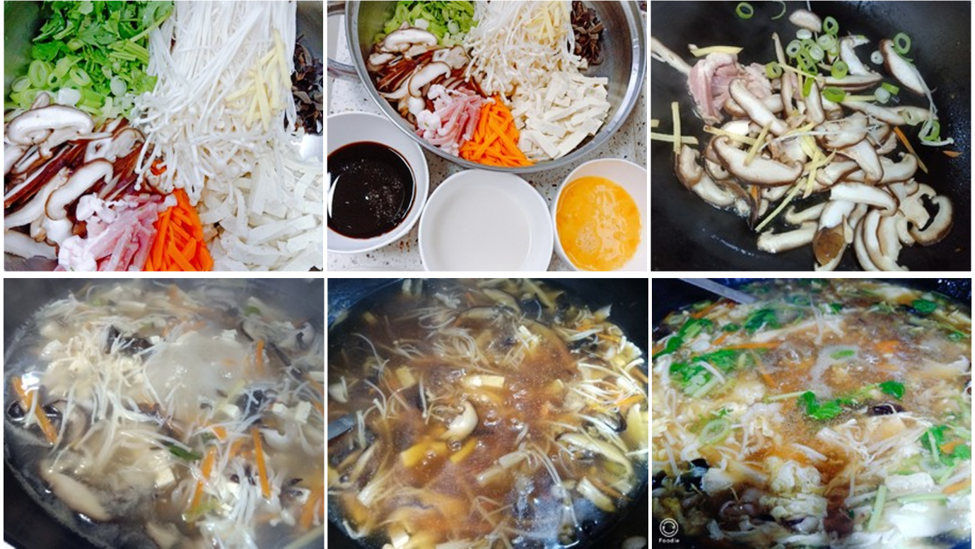 A picture containing food, dish, different, meat  Description automatically generated