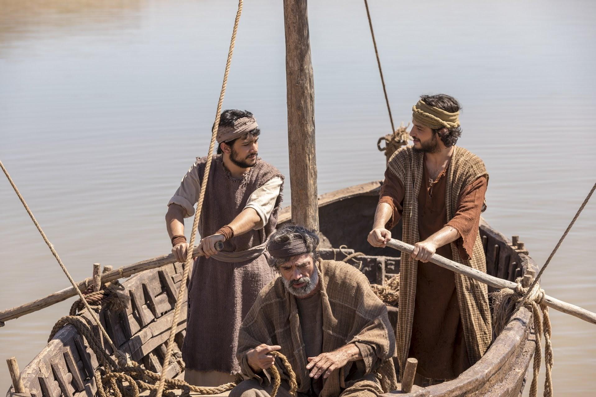 Pedro salva a vida de João Novela Jesus