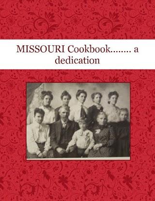 MISSOURI    Cookbook........  a dedication