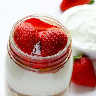 Strawberries & Cream Overnight Oats.