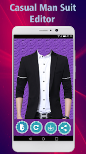 Man Suit Editor - Casual Business Man Suit Editor - náhled