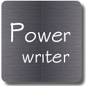 Power writer icon