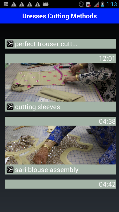 Fashionable Dresses Cutting 16- screenshot