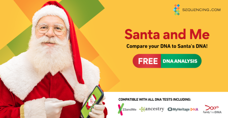 Sequencing.com Santa and Me app.